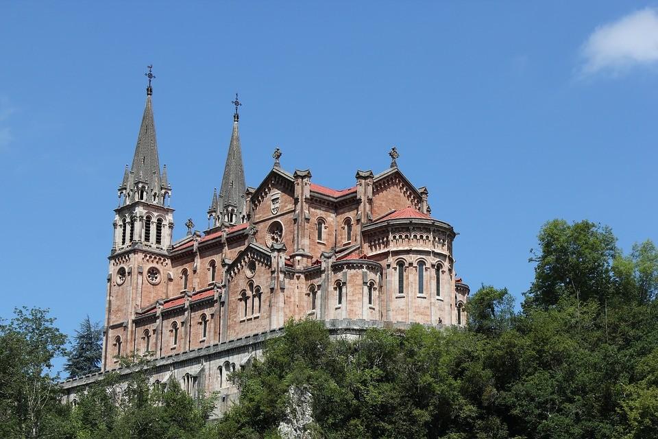 santuario basilica covadonga
