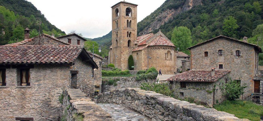 beget pueblo medieval girona