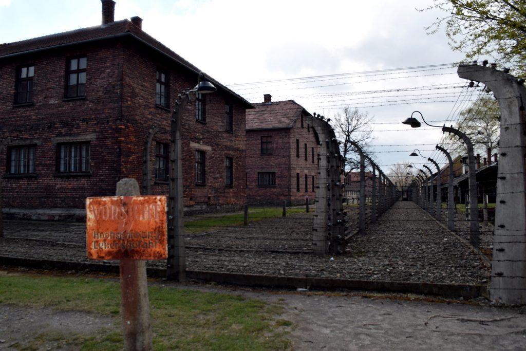 vallas campo concentracion Auschwitz