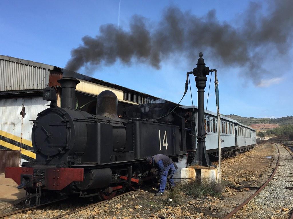 huelva ferrocarril riotinto