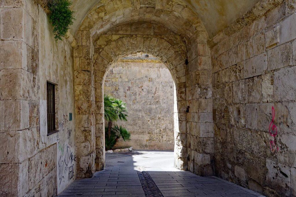 Cagliaria barrio del castillo