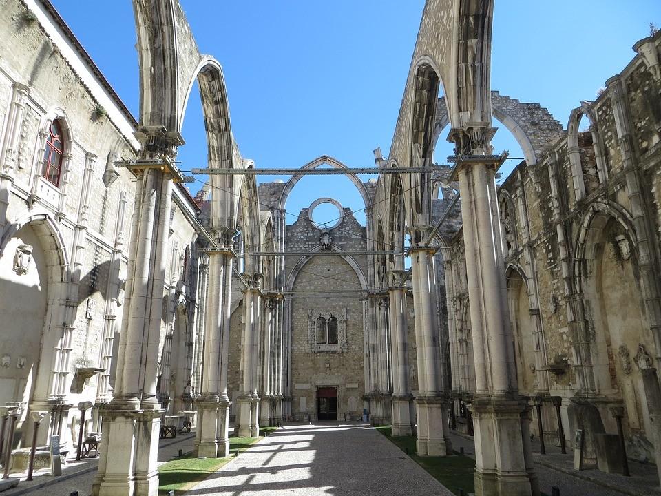 sitios para visitar en Lisboa Convento do Carmo