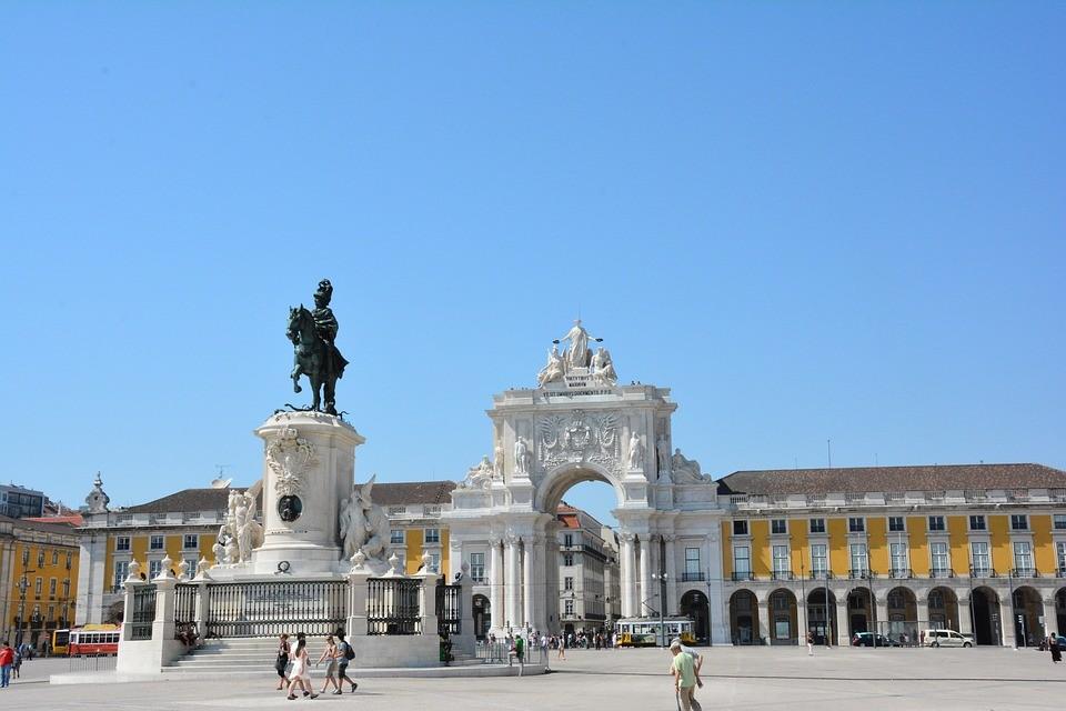 Que ver en Lisboa Plaza del comercio