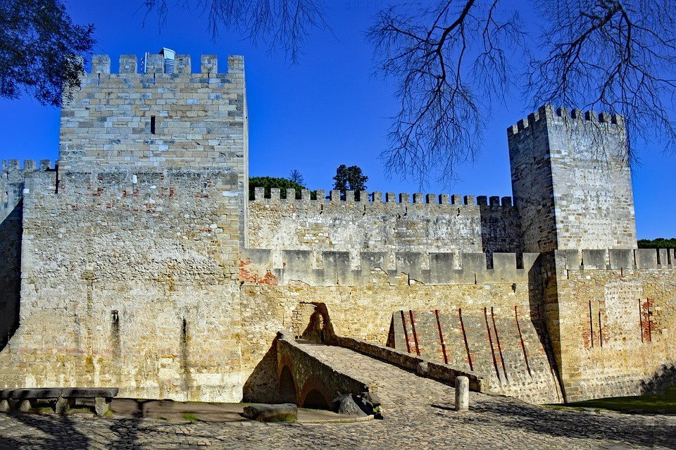 Lisboa castillo San Jorge