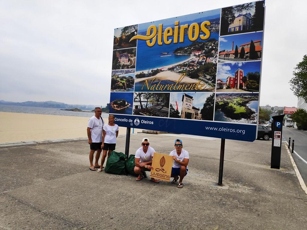 limpieza playa santa cristina