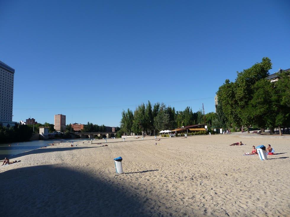 Valladolid en familia playa de las moreras