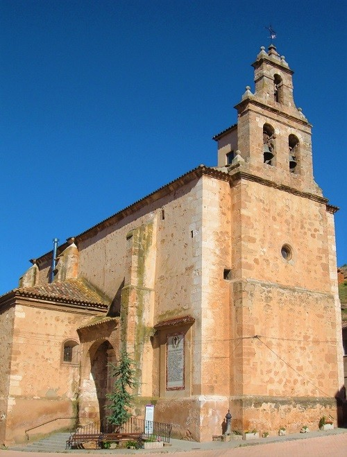Iglesia nuestra señora de la asuncion Arcos de Jalon
