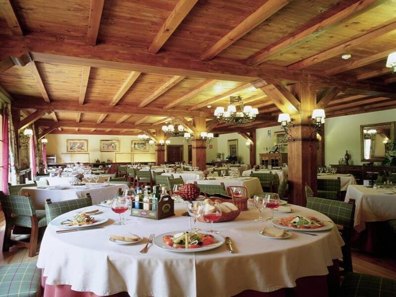 Restaurante del Parador de Bielsa, Espierba