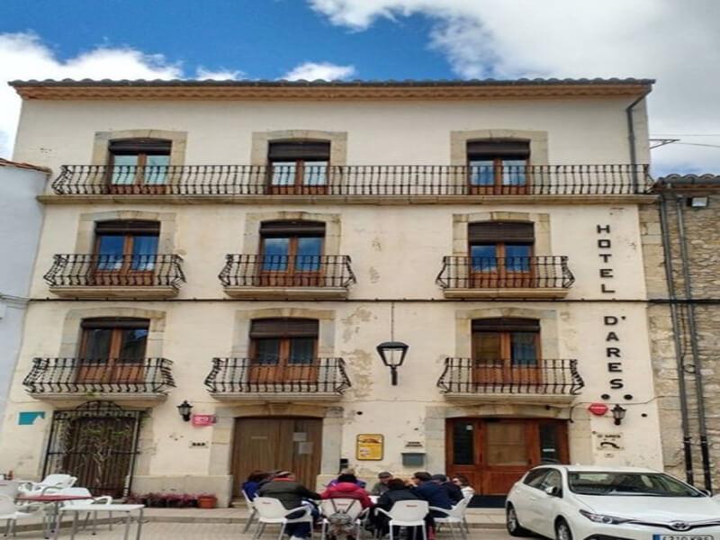 Restaurante del hotel D Ares del Maestrat
