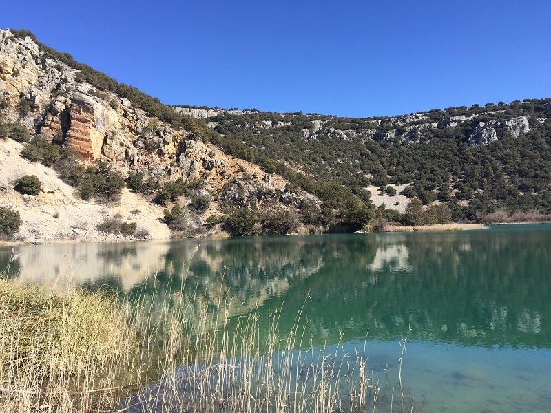 La laguna grande del Tobar cuenca