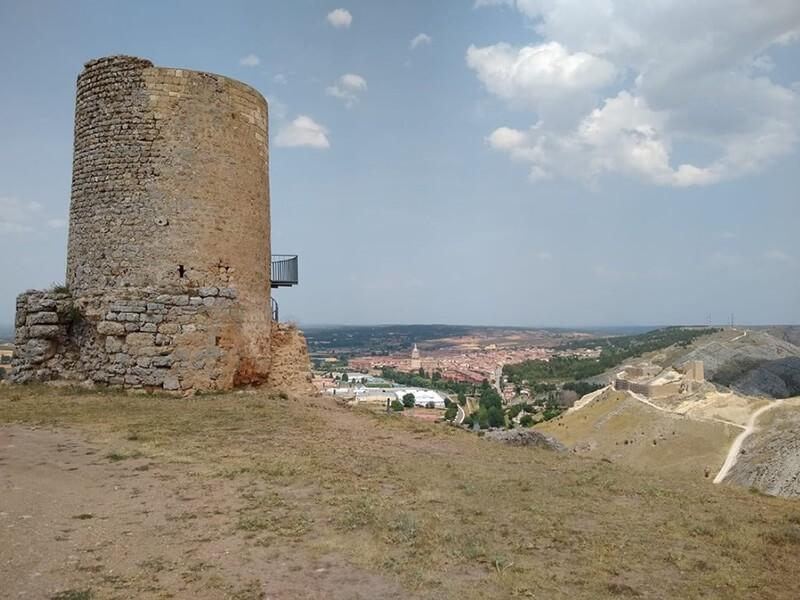 Ruinas de Uxama, Burgo de Osma