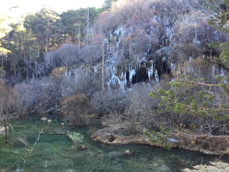 ruta por el nacimiento del rio cuervo