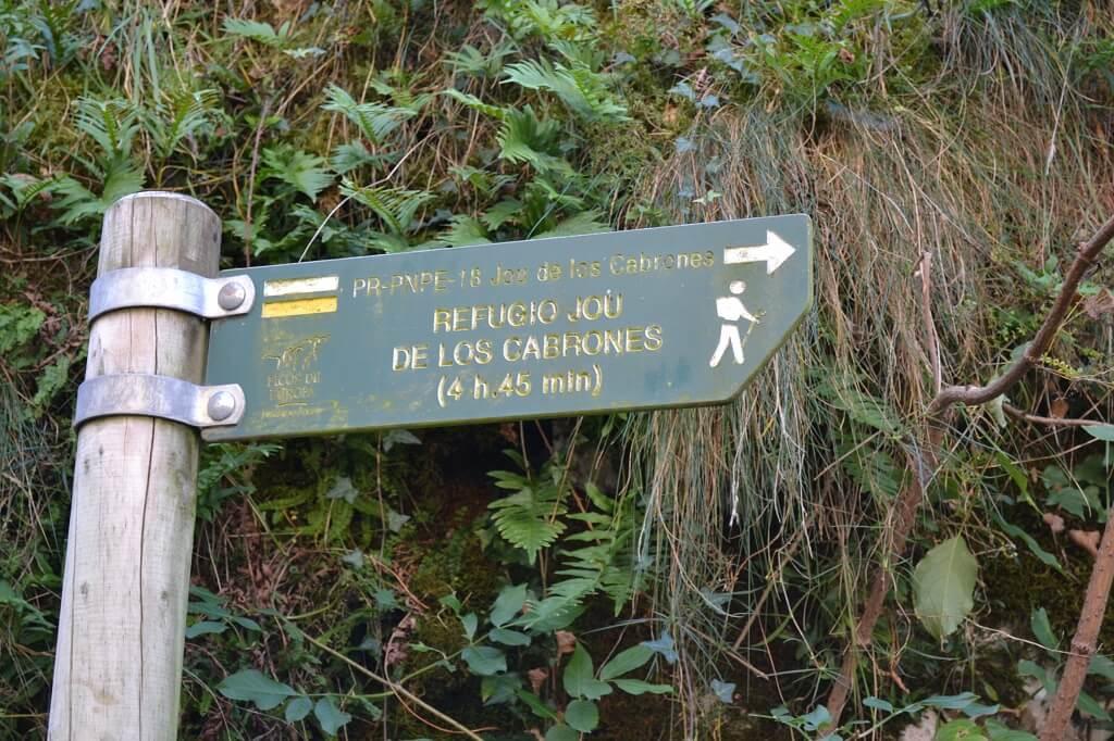 rutas de senderismo en bulnes