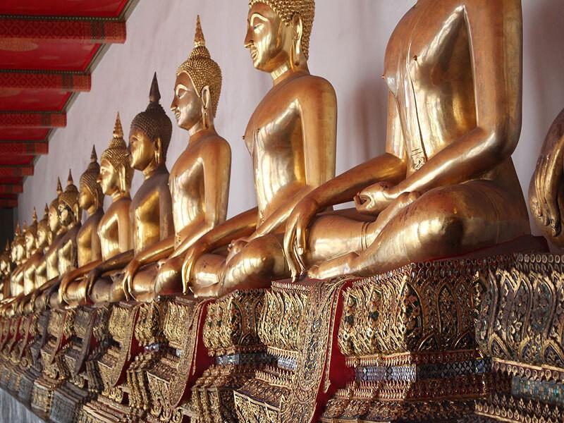 El Templo de la Gran Reliquia, Bangkok
