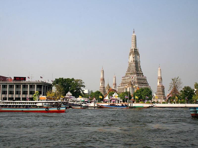 El Templo del Amanecer, Bangkok