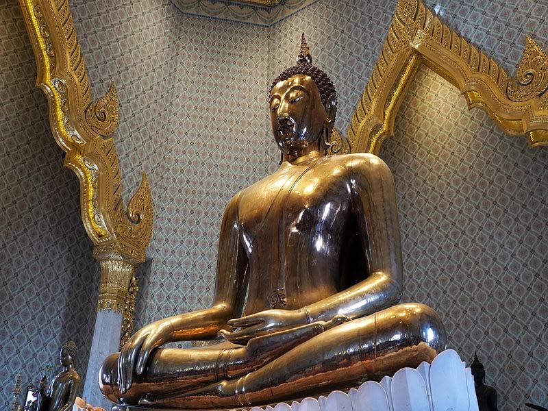 El Templo del Buda Dorado, Bangkok