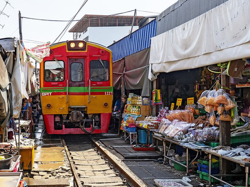 Mercado del Tren, Bangkok