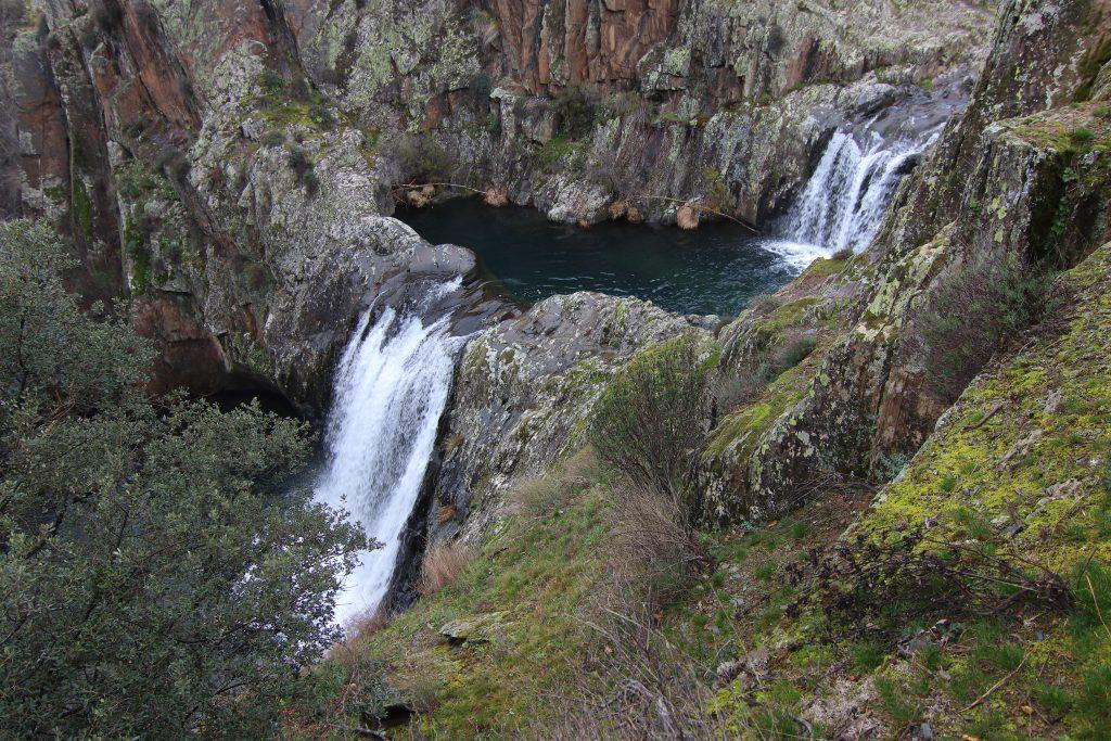 Cascada del Aljibe que hacer en guadalajara con niños