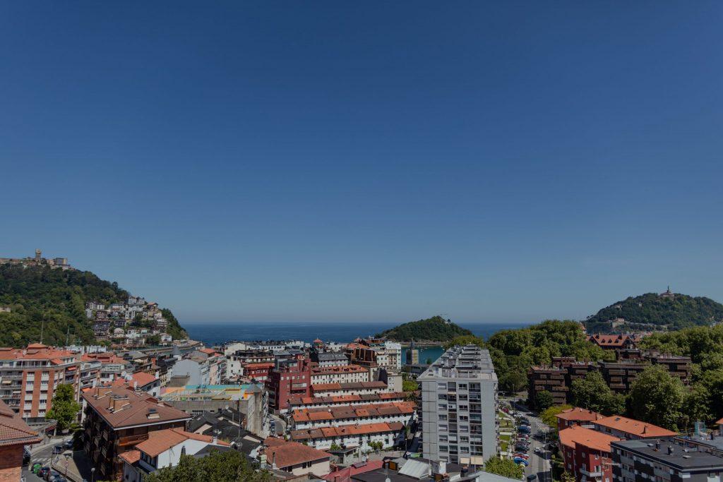 Vistas Koisi Hostel San Sebastian