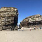 La Playa de las catedrales en Lugo. Uno de los sitios más bonitos de Galicia