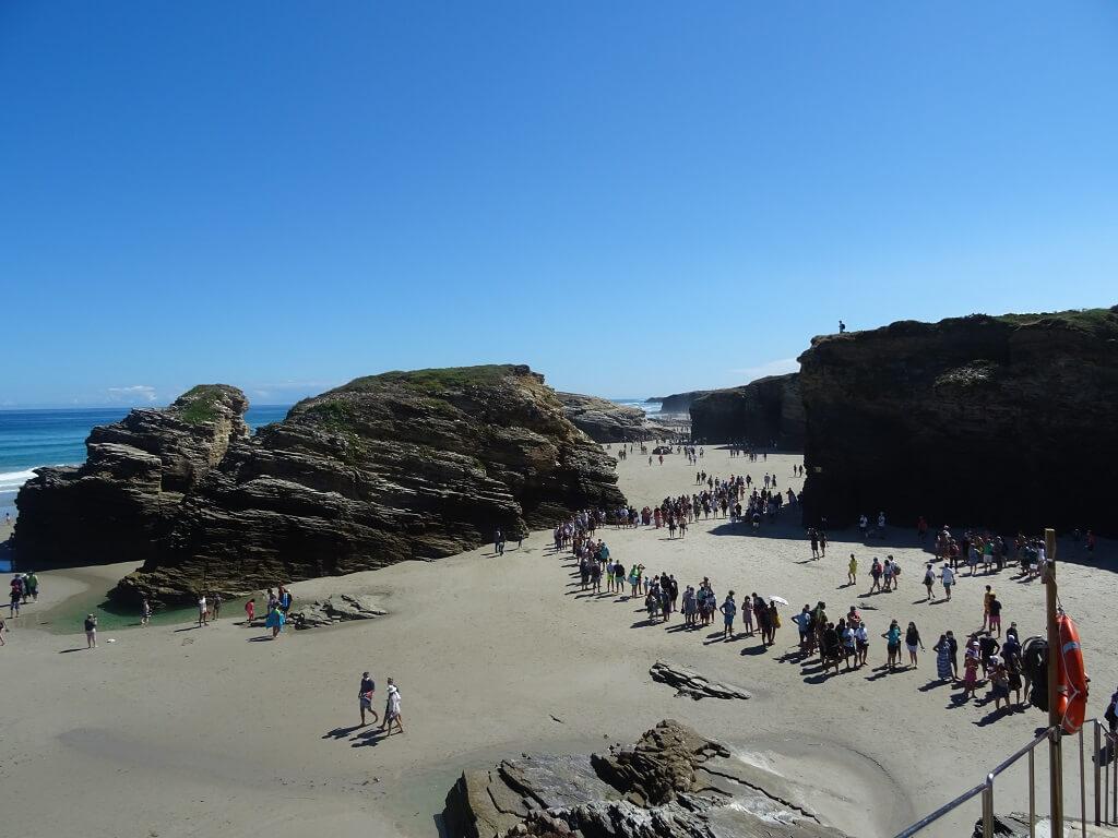 reservar playa de las catedrales