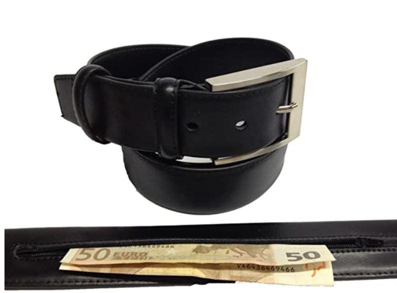 donde esconder el dinero cuando viajas