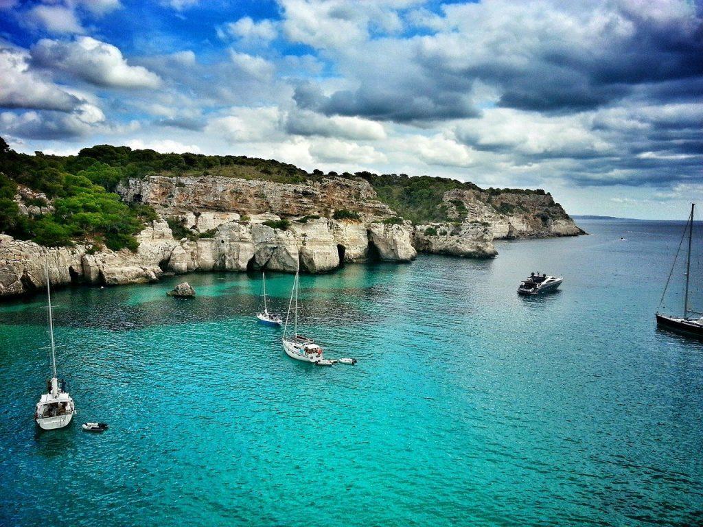 mejores playas y calas de Menorca