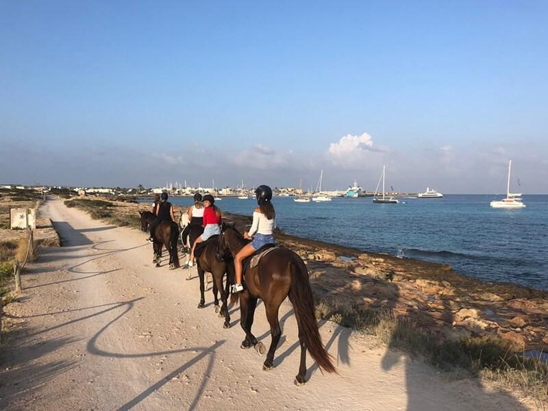 Rutas para excursiones, Formentera