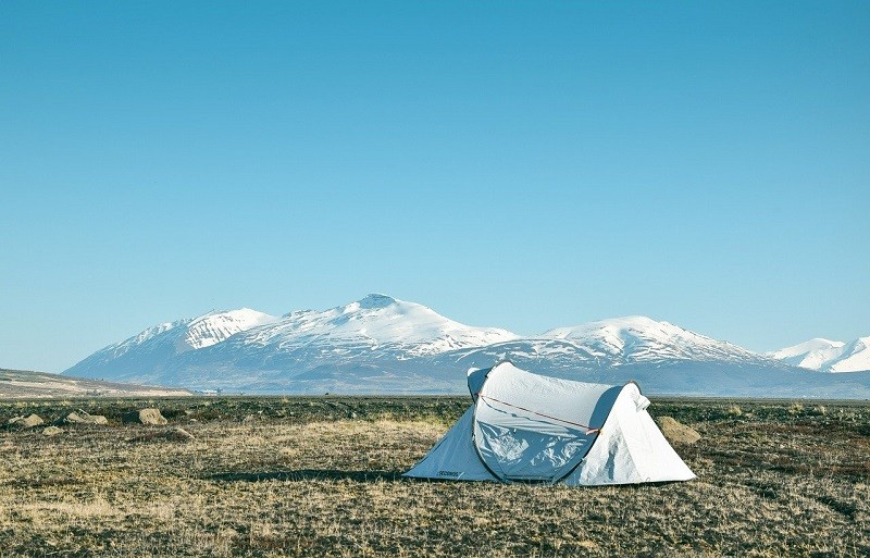 acampada senderismo