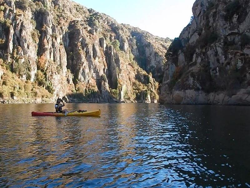 Kayak en el Río Duero, Soria
