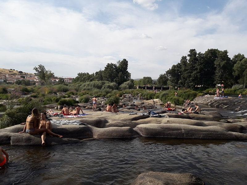 Piscinas naturales, Salamanca