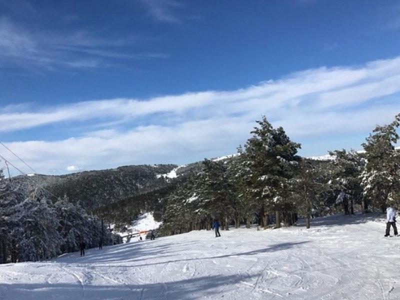 Punto de Nieve Santa Inés, Soria