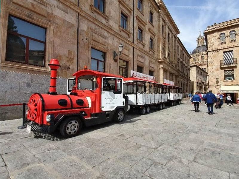 Tren Turístico de Salamanca, Salamanca