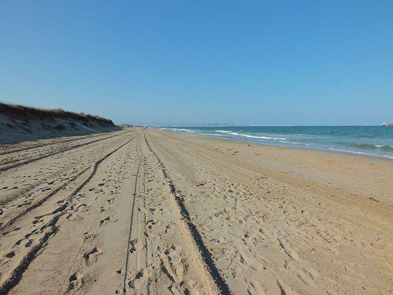 Playa La Devesa del Saler, Valencia