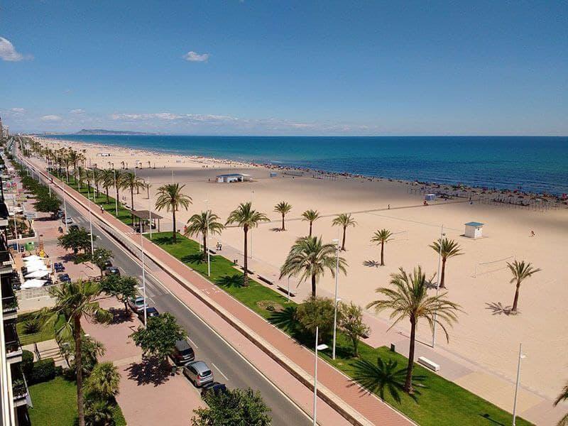Playa Nord de Gandía, Valencia
