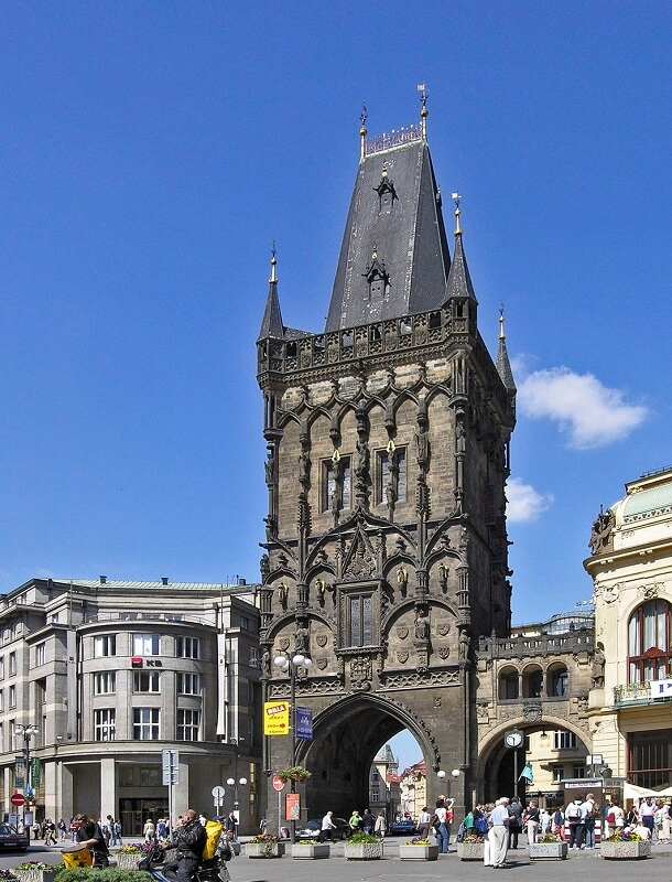 Torre de la Polvora Praga