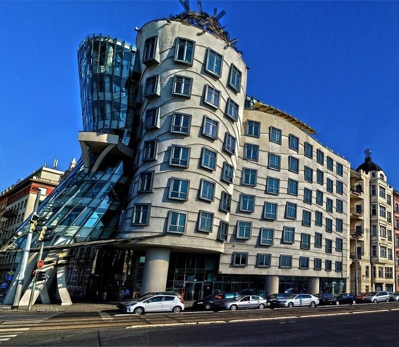 dancing house que ver en Praga