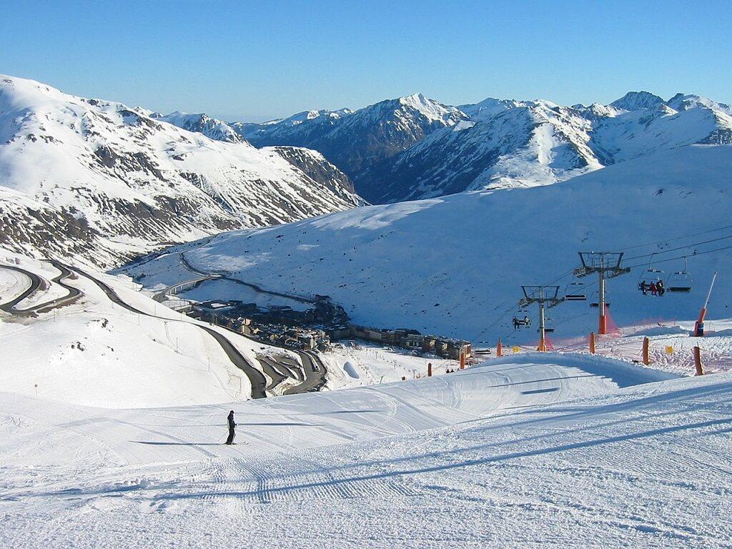 pistas de esqui en andorra